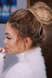 Messy Formal Hairstyles by Easy Wedding Updo Messy Bun Effortless Bun Glam Prom