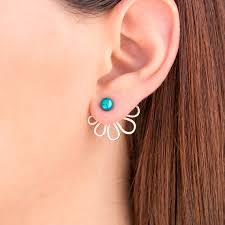 earring jackets turquoise earring jackets ear jacket earrings mix and match