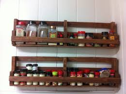 a home made spice rack made out of pallets homes pinterest