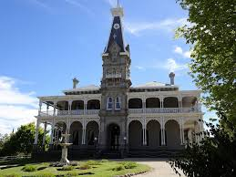sunbury rupertswood house with fountain and clock tower u2026 flickr