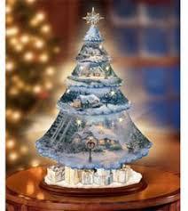 thomas kinkade lighted pictures thomas kinkade ornaments holiday memories crystal snowman at ocean