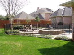 pool enchanting backyard design and decoration using white iron
