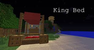 minecraft how to make a king bed youtube