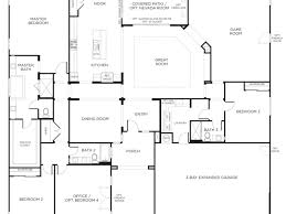 one story floor plan single story floor plans one story house plans pardee homes 4