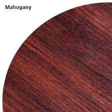 42 round laminate table top oak street mb42r mahogany black 42 round table top double