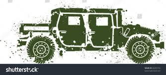 Splatter Paint Hummer Artwork Stock Vector 28295710 Shutterstock
