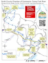 Cumberland River Map Attractions Experience Smith County