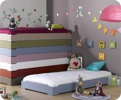 chambre bébé montessori lit enfant empilable bleu chine 90x190 cm vente mobilier bois massif
