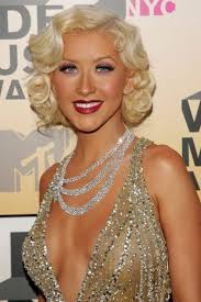 medium length haircuts for 20s christina aguilera retro hairstyle retro bob vintage bob and