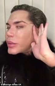 Seeking Ken Doll Human Ken Doll Rodrigo Alves Isn T Addicted To Surgery Daily