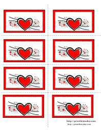 10 best images of heart valentine u0027s free printable labels free