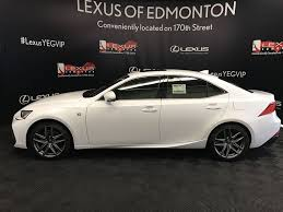 sporty lexus 4 door new 2017 lexus is 300 f sport series 2 4 door car in edmonton