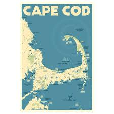 cape cod map alan claude