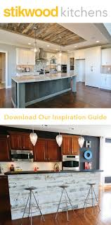 Barn Board Kitchen Cabinets by 42 Best Barn Wood Accent Wall Images On Pinterest Wood Accent