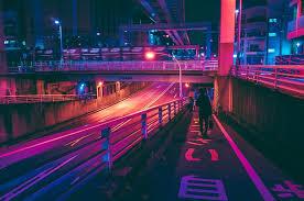 tokyo at awash in neon light by photographer masashi wakui