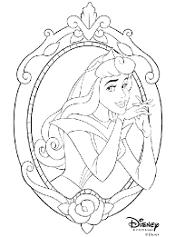 disney princess aurora coloring crayola