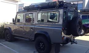 land rover safari hannibal roof racks 110 series defender hannibal safari equipment
