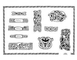 wrist band in celtic style from itattooz