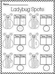 1st grade math worksheets place value tens ones 1 math pinterest