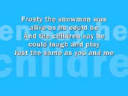 frosty the snowman lyrics song http www thanksmuch com