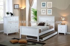 kids bedroom furniture in white single bed chest of drawers