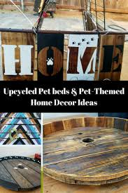 Dog Themed Home Decor Upcycled Dog Beds Supplies That U0027ll Make You Smile U2022 Recyclart