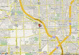 crestwood map map of hton inn chicago crestwood midlothian