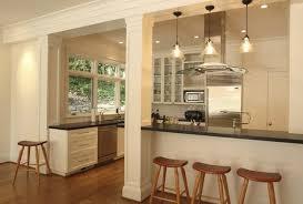 idee mur cuisine ouverture cuisine salon stunning idee sur mur newsindo co