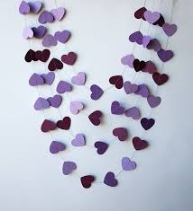 purple decorations bridal shower decorations diy cheap purple burlap founterior