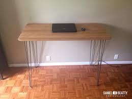 ikea bamboo table top bamboo and steel ikea hilver standing desk ikea hackers