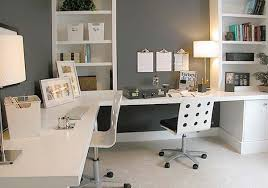 nice white office desks on home interior redesign with white