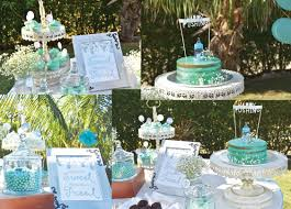 mint to be a mommy surprise baby shower by celebrations