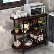 kitchen appliance storage cabinet kitchen storage holders metal wood microwave oven shelf stand kitchen appliances storage rack cabinet buy kitchen storage holders free standing