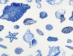 Sea Shell Curtains Seaside Shower Curtain