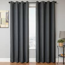 Two Different Colored Curtains Softline Home Fashions Drapery Emmen Linen Panel