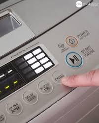 How To Wash Blinds In The Washing Machine How To Clean Your Top Loading Washing Machine One Good Thing By