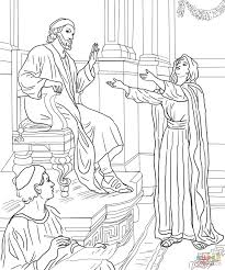 lost coin with parables of jesus coloring pages creativemove me