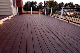 composite decking detail porch baltimore by clearwater