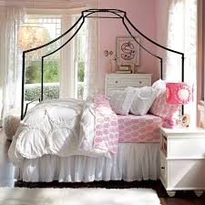 White Bedding Decor Ideas Beautiful Bedroom Design Inspiration Presenting Metal Queen Size