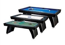 atomic 2 in 1 flip table 7 feet best multi game table reviews 2018