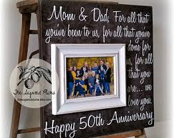 50th wedding anniversary gifts for parents anniversary on etsy a global handmade and vintage marketplace