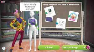design clothes games for adults the sims mobile izzy s fashion shop