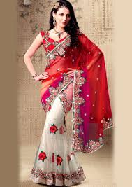 engagement sarees for mehandi designs world august 2013