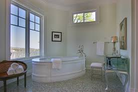 Mercury Glass Table L Mercury Glass Table Bathroom Traditional With Light Green Wall L