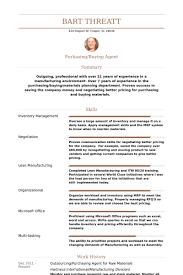 Sample Buyer Resume by Purchasing Resume Resume Example