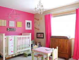 Girls Pink Chandelier Crystal Chandelier For Baby Room Fascinating Decoration