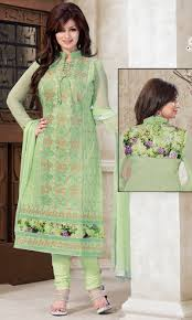 buy ayesha takia pista green party wear suit heerni 2 4 by