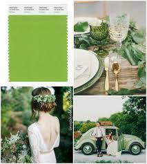 greenery no casamento pantone