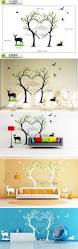 Wall Stickers Home Decor Stickers Large Birds Deer Love Trees Wall Stickers Large Forest