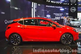 vauxhall india 2016 opel astra side at the iaa 2015 indian autos blog